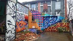409 Paris en Février 2018 - Avenue Pasteur à Bagnolet (paspog) Tags: paris france février februar february 2018 bagnolet avenuepasteur tags fresque fresques graffitis mural murals