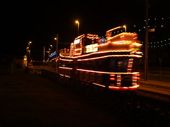 Fishermans Friend Tram (divnic) Tags: blackpoolilluminations blackpooltram blackpool uk england fleetwood lancashire lancs seaside fyldecoast blackpooltransport metrocoastlines blackpoolboroughcouncil tramway blackpooltramway tram