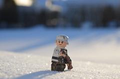 Kirkenes 1944 (BlockingBricks) Tags: mars2018 theminifigco citizenbrick brickarms world war two ww2 worldwartwo kirkens snow lego outdoors