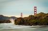 Golden Gate bridge (Ebeltoft Photography) Tags: sanfrancisco sf sanfran goldengatebrige california sea bakerbeach details bridge america usa travel