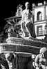 The Hispalis Fountain (Seville) (BW) (Olympus OM-D EM1-II & M.Zuiko 12-40mm f2.8 Pro-Zoom) (markdbaynham) Tags: seville sevilla city urban spain spainish andalusia andalusian espana espanol spainishcity olympus omd em1 em1ii em1mk2 csc mirrorless evil mft m43 micro43 micro43rd mzd mz zd mzuiko zuikolic microfourthird microfourthirds monument fountain hispalis hispalisfountain bw monochrome 1240mm f28 prozoom