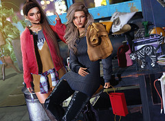 Life is moving (Vega_Arida) Tags: doux létre theskinnery lamb emery secondlife sl thor decor spring2018 coco mowie 3dgirls digitalart girls friends moto bikes fashion slfashion fashionista 3dart avatars