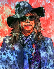 Steven Tyler (Bob Smerecki) Tags: smackman snapnpiks robert bob smerecki sports art digital artwork paintings illustrations graphics oils pastels pencil sketchings drawings virtual painter 6 watercolors smart photo editor colorization akvis sketch drawing concept designs gmx photopainter 28 draw hollywood walk fame high contrast images movie stars signatures autographs portraits people celebrities vintage today metamorphasis 002 abstract melting canvas baseball cards picture collage jixipix fauvism infrared photography colors negative color palette seeds university michigan football ncaa mosaic
