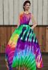 My Tie-Dye Evening Gown (DaphneEnchantrix) Tags: secondlife daphneenchantrix enchantrix mistress femdom