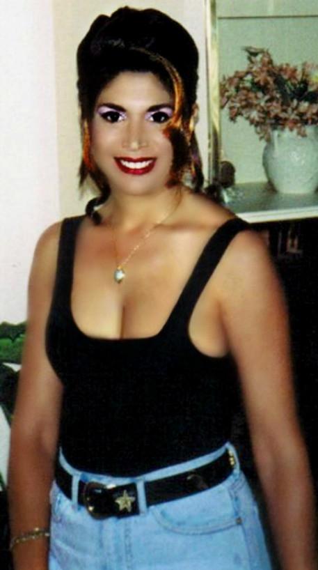 Mature busty brunette