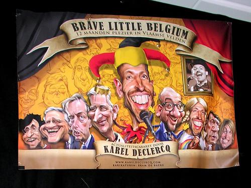Karel Declercq, Brave little Belgium 7maa-2018