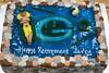 pool Greenbay packers (backhomebakerytx) Tags: cake retirement green bay packers pool man rocks icing creative