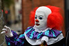 A Clown at The Thought Bubble (Steve Barowik) Tags: leeds ls1 70200mmf28gvrii barowik riveraire canal thoughtbubblefestival comic comicart navigation leedsliverpool lock station stevebarowik sbofls26 trinityarcade headrow centralleeds nikond500 d500 dx cropframe unlimitedphotos wonderfulworld flickrelite quantumentanglement lovelycity kirkgatemarket