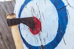 Taylor's Axe Throwing 33rd Birthday Party-4036 (taylorsloan) Tags: axe ax throwing party birthday idea diy buildyourown axethrowing stump