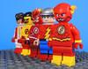 Flash Family (-Metarix-) Tags: lego minifig dc comics comic flash kid speed force wally west barry allen bart jay garrick speedster family impulse generation custom