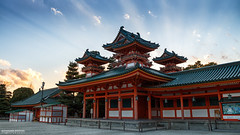 Heian-jingu Kyoto (ONLY-JAPAN-PHOTOGRAPHY) Tags: ancient buddhism best culture d610 eos canon green honshu japan japón japani japon japanese nature nihon nikon nippon red shintoism shinto summer tradition travel travelling view world 日本 本州 일본