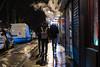 Minolta MC Rokkor 58 mm f1.2 - DSCF3334 (::Lens a Lot::) Tags: minolta mc rokkor 58 mm f12 70s | 8 blades apperture md mount paris 2018 streetphotography street photography bw candid bokeh depth field fixed length prime manual classic japanese lens noir blanc personnes profondeur de champ route vintage color night light smoke