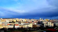 1.248 - Amanecer en Coruña (esnalar) Tags: coruña lacoruña acoruña galicia españa spain parquedebens parquedesanpedro torredehércules ciudad cielo sol nubes amanecer parquedeoza sky city sun clouds sunrise