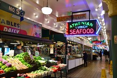 Pike Place 81 (Krasivaya Liza) Tags: pike place market pikeplace pikeplacemarket flowers fish veggies stalls vendors fruit seattle wa washington state pac northwest pacific puget sound waterfront city urban cityscape street streets art snow snowy winter feb 2018
