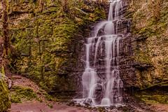 Swallet Waterfall (patrica.evans3) Tags: waterfall swallet green moss eyam peak district
