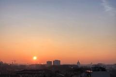 foggy mornings (loganemalie) Tags: fog city cityscape landscape sunrise toulouse france occitanie europe