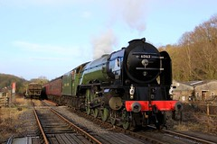 60163 'Tornado' - NYMR - 2018-03-11 (BillyGoat75) Tags: lner a1 peppercornclass 60163 tornado steamengine locomotive pickering northyorkshiremoorsrailway nymr heritagerailway