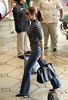 set (antoniusbudyono10) Tags: losangeles california usa jeans fulllength stripey handbag boots sunglasses walking shopping celeb tv