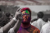 Colorful Swag (views@vista) Tags: celebrations colors face festivalofcolors holi india outdoor shades traditional festival people