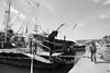 Sariyer, Istanbul - Turkey. IMG_9821 (yalcin_savas) Tags: canon eosm efs1585mm street blackandwhite bw monochrome fishingboat people istanbul turkey