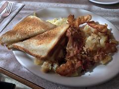 Jane's Diner - Egg and Bacon (Craig Kopra) Tags: food foodporn meal diner binghamton ny bacon eggs toast