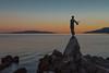 Croatia - Opatija (cmfritz) Tags: abend abendrot kroatien kvarner maidenwiththeseagull opatija urlaub blauestunde sunset meer sea figur croatia