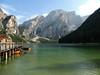 Lago di Braies - 2 (anto_gal) Tags: altoadige sudtirol dolomiti dolomites pusteria dobbiaco toblach 2013 montagna lago braies croda becco pragserwildsee