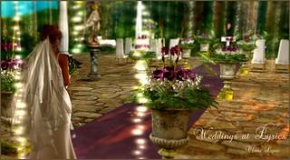Weddings @ LYRICS by Chant Lyric