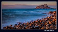 Alba mediterrània 33 (Mediterranian Dawn 33) Cala Baladrar, Benissa, la Marina Alta, Alacant, Spain (Rafel Ferrandis) Tags: cala baladrar benissa marina seda mediterrània eos5dmkiv ef1635mmf4l bwnd1000x fofografosdevalencia