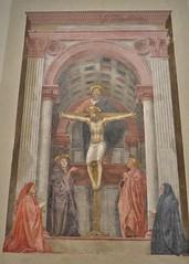 The Holy Trinity (1425-26) by Tommaso Guidi (Masaccio) (greentool2002) Tags: santa maria novella florence holy trinity tommaso guidi masaccio