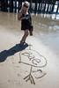 BAE <3 (m01229) Tags: sand write written bae santa monica