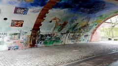 Wandgemälde FRA am Main (PanX7) Tags: frankfurt hessen main mainufer
