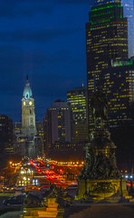 Philly at night (mattb105) Tags: pennsylvania philadelphia night city cityscape view