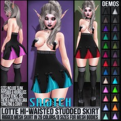 Sn@tch Lotte Hi-Waisted Skirt Vendor Ad LG (Tess-Ivey Deschanel) Tags: sntch snatch sl secondlife second life iveydeschanel ivey deschanel ihearts clothing clothes clubwear costumes casual punk gothic goth gaming game virtualworld virtual vampire virtualworlds vamp mesh model meshclothing meshclothes models hair fashion designer