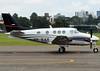 King Air C90B, PP-BAF (Antônio A. Huergo de Carvalho) Tags: beech beechcraft king air kingair c90 c90b ppbaf