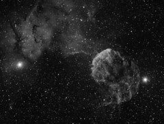 IC443 - The Jellyfish Nebula in H-Alpha (farhangzia) Tags: jellyfish jellyfishnebula nebula astronomy astrophotography dso astro space universe nebulae ic443 sh2248 astrometrydotnet:id=nova2475740 astrometrydotnet:status=solved