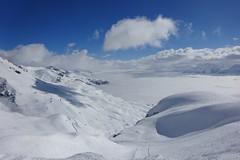 Col du pochet (corinne emery) Tags: cransmontana pochet paysage landscape exterieur montagne mountain suisse swiss ciel cloud neige valais wallis brouillard