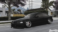 @moeplomteaux (TheFaNTaS11) Tags: bmw m3 e36 static moeplomteaux cambergang camber vskf vs kf work wheels stance stancenation stanced slammed grandtheftautov gta5 gta photography