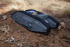 WW1 Landship (EliteTC) Tags: lego ww1 tank vehicle war landship male mark battlefield 1