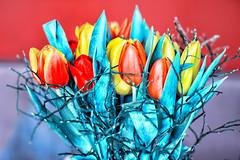 Tulpen bunt (cesa lojosa) Tags: blume tulpe tulpen blumen blumenstraus bunt tulips flowers colourful cesalojosa bunchofflowers