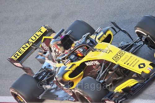 Carlos Sainz Jr during Formula One Winter Testing