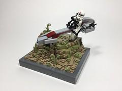 91st Recon BARC Speeder (30Sean) Tags: commander neyo star wars clone texturing barc saleucami