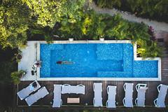 tulum (Mika Lander) Tags: tulum quintanaroo mexique mx drone dji spark vacances piscine nageuse détente plaisir