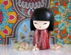 Yoka 🌸 (Through Serena's Lens) Tags: closeup stilllife kimmidoll yoka flower tabletop energetic doll japanese