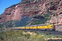 Spirit of the City of Los Angeles (jamesbelmont) Tags: unionpacific ilacb echocanyon utah emd e9a echo canyon railway