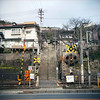 尾道 (Steve only) Tags: ricohflex million ricoh anastigmat 1358cm 8035 f35 80mm 8cm tlr mediumformat kodak portra 160 film epson gtx970 v750 snap japan 尾道 jr railway onomichi