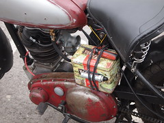 BSA C11 (cycle.nut66) Tags: bsa c11 birmingham small arms motorbike motorcycle 1949 single cylinder air cooled 250 yorkshire tea battery box clutch drive side tnk seat frame old british olympus epl1 evolt micro four thirds mzuiko
