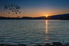 Indian Gap Memorial Lake, Pennsylvania (Rafael Arvelo C.) Tags: lake ¨national park¨ ¨ national park nationalpark indiangap memoriallake pennsylvania eua usa america atardecer flyingbirds unitedstates sunset