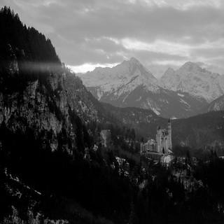 Neuschwanstein from Tegelberg