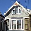 San Francisco, CA, Noe Valley, Victorian House, Bow Window (Mary Warren 10.2+ Million Views) Tags: sanfranciscoca noevalley architecture building house residence victorian window bowwindow